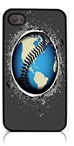 HeartCase Hard Case for Iphone 4 4G 4S (Baseball Sport )