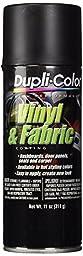 Dupli-Color HVP106 Flat Black High Performance Vinyl and Fabric Spray - 11 oz.