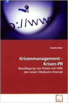Book Krisenmanagement - Krisen-PR