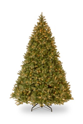 National Tree Pre-Lit 9 Foot Downswept Douglas Fir Tree