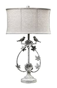 Dimond 113 1134 Linen Shade French Country Two Birds Iron