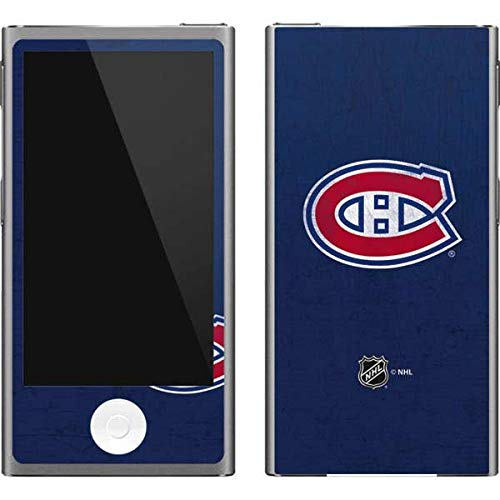 (Skinit NHL Montreal Canadiens iPod Nano (7th Gen&2012) Skin - Montreal Canadiens Distressed Design - Ultra Thin, Lightweight Vinyl Decal Protection )