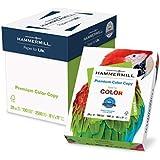Hammermill Paper, Premium Color Copy Paper 8.5 x 11 Paper, Letter Size, 28lb Paper, 100 Bright, 5 Reams / 2,500 Sheets (102450C) Acid Free Paper