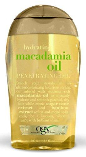 Ogx Hydrating Macadamia Penetrating Oil 3.3oz
