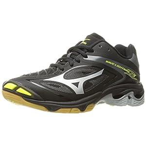 Mizuno Women's Wave Lighting Z3 Volleyball Shoe,Black/Silver,8.5 B US