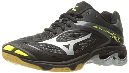 Mizuno Women's Wave Lighting Z3 Volleyball Shoe,Black/Silver,11.5 B US