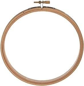 Darice Wood Embroidery Hoops, 6-Inch