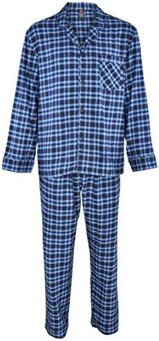 Hanes Cotton Flannel Plaid Pajama product image