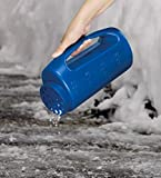 Superio Ice Melt Salt Spreader Handheld Shaker for
