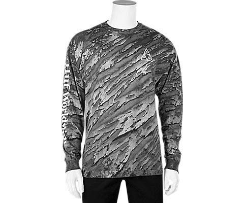 HUF Soho Triple Triangle Marble Wash LS Shirt