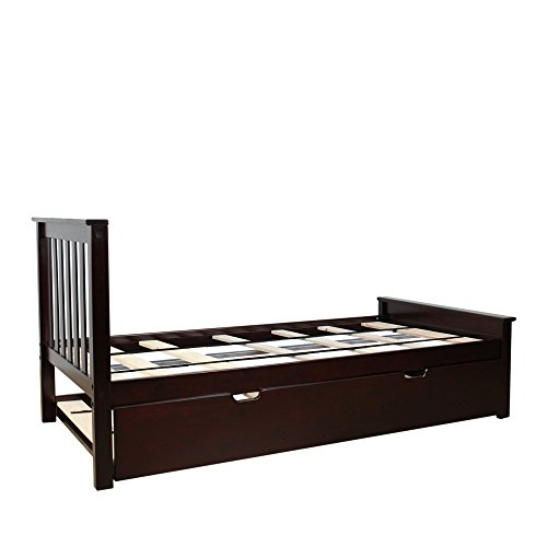 Max Lily Twin Size Trundle Espresso Basic Facts