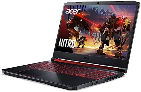 Acer Nitro 5 Gaming Laptop, 9th Gen Intel Core i5-9300H, NVIDIA GeForce GTX 1650, 15.6″ Full HD IPS Display, 8GB DDR4, 256GB NVMe SSD, Wi-Fi 6, Backlit Keyboard, Alexa Built-in, AN515-54-5812 41nz1BgP5WL