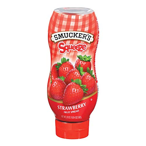 (Smucker's Squeeze Strawberry Fruit Spread, 20 Oz)