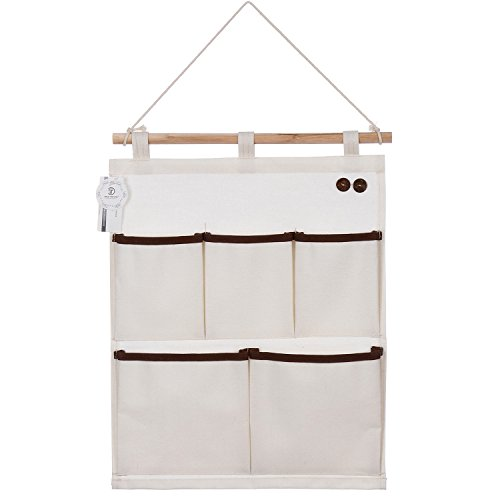 Sea Team New 100% Natural Linen & Cotton - Narrow Wall Storage Cabinet