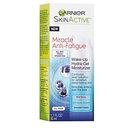 Garnier SkinActive Ultra-Lift Miracle Wake-Up Cream Hydra-Gel Moisturizer 1.7 oz.(1 Pack)