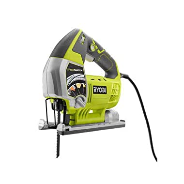 Ryobi ZRJS651L 6.1 Amp Variable-Speed Orbital Jigsaw with SpeedMatch (Renewed)