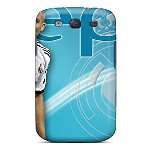 Faddish Phone The Player Of Real Madrid Pepe On The Blue Background Case For Galaxy S3 / Perfect Case Cover