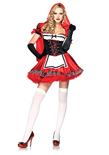 Divine Miss Red Costume - Large - Dress Size 12-14 - Divine Miss Red Costume