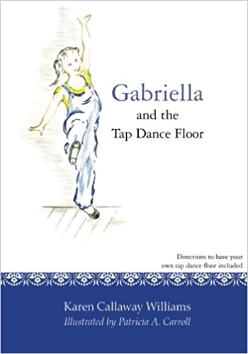 gabriella and the tap dance floor
