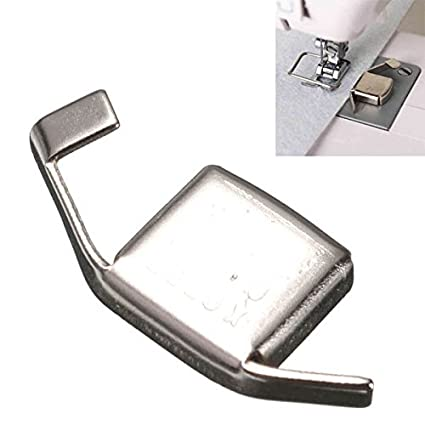 Silver Sewing Machine Magnetic Gauge Fitting For Brother Singer Toyota // Máquina de coser plata