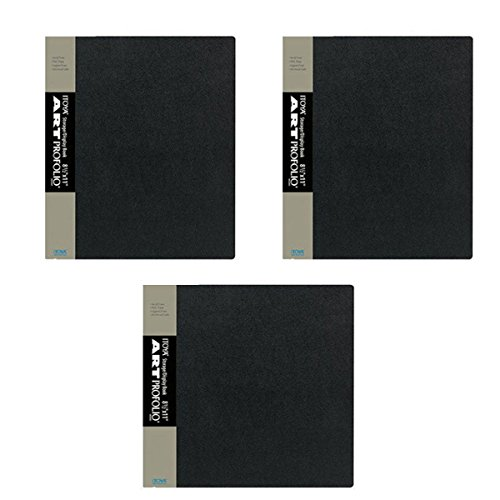 Pack Of 3 Itoya Art Profolio 8.5 x 11 Presentation Photo Album Book IA-12-8