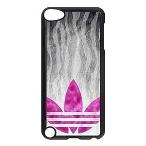 The logo of Adidas for Apple iPod Touch 5th Black Case Hardcore-9 Kimberly Kurzendoerfer