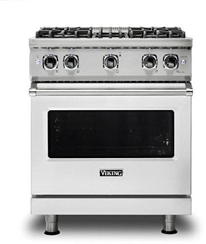 Viking VGR5304BSSLP Professional 5 Series Freestanding Gas Range