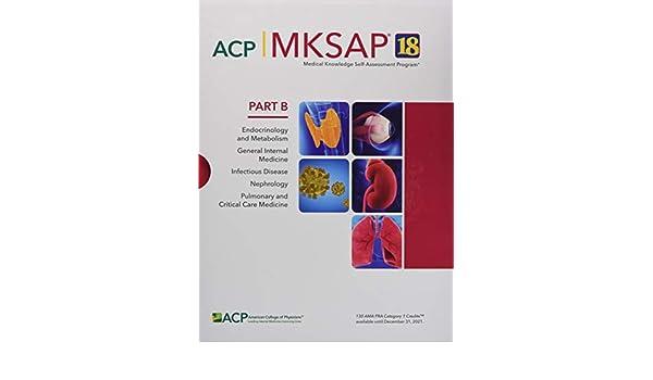 MKSAP (R) 18 Nephrology: 9781938245572: Amazon com: Books