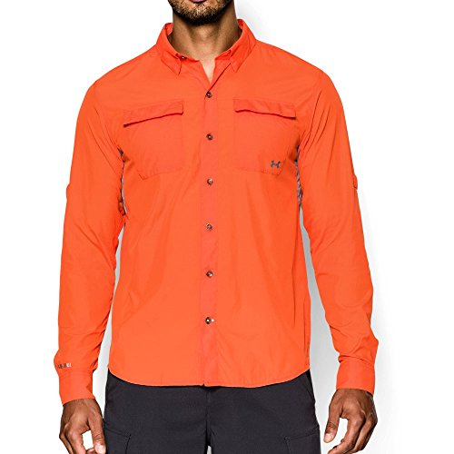 Under Armour UA Iso-Chill Flats Guide Shirt LG ()