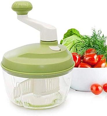 NewbieBoom Picadora de Cocina Manual Picadora de Alimentos Manual ...