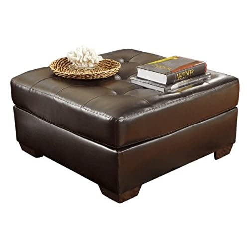 Exceptionnel Ashley Furniture Signature Design   Alliston DuraBlend Upholstered Oversized  Accent Ottoman   Contemporary   Chocolate