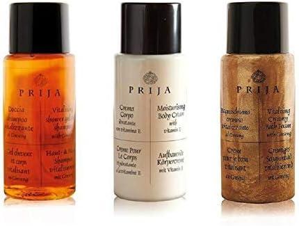 Prija Hotel artículos de tocador de bienvenida Pack 150 unidades champú y gel de ducha, loción corporal y espuma de baño: Amazon.es: Belleza