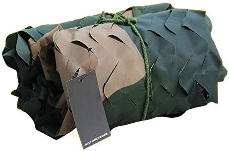 QSTF 210Dオックスフォードの生地の迷彩の網、Camoの網の探求の射撃のための軍隊を隠しなさい隠し網を隠しなさい (Color : Three-color, Size : 7 × 10 M)