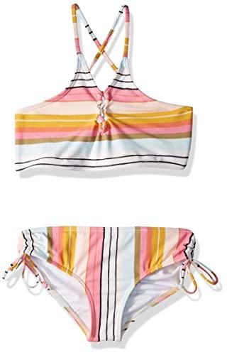 Billabong Girls' Sunny Song High Neck Bikini Set Multi 14 ()