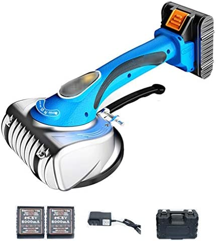 タイル吸引カップ、6つの歯車8000 mAhのタイル振動レベラー、レベリングツール、ワイヤレスポータブル、リチウム二次電池では、最大吸着100キロ(2 *リチウム電池)