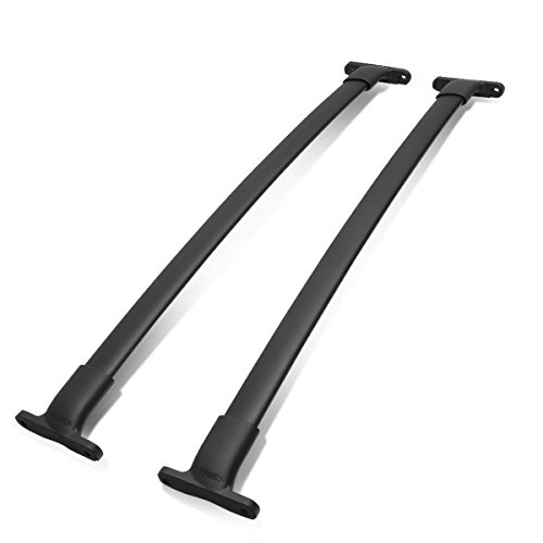 Rails Ford Roof (DNA MOTORING PT-ZTL-8028 Aluminum Top Rail Roof Rack Cross Bar[16-18 Ford Explorer])