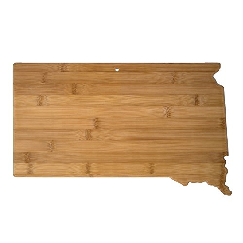 Sd South Dakota - Totally Bamboo 20-7997SD South Dakota State Shaped Bamboo Serving & Cutting Board,