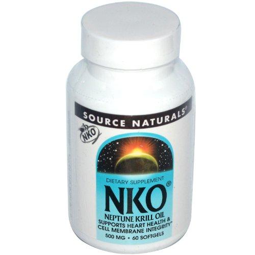 Source Naturals NKO Neptune Huile de Krill - 500 mg - 60 gélules