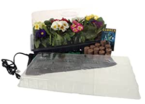 Hydrofarm CK64061 11-by-22-Inch Hot House Plus with 72 Seed-Starting Coco Plugs