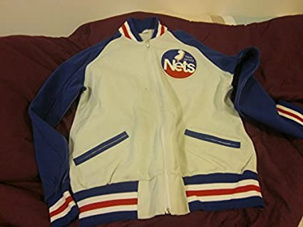 low priced f594b d257f Early 1980's New Jersey Nets Game Used Warm Up Pants ...