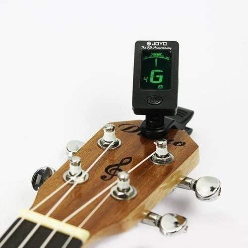 CLKJYF - Afinador digital para guitarra acústica, eléctrica, bajo ...