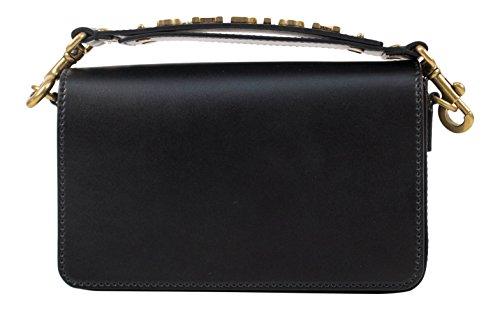 Christian Dior 'J'ADIOR' Black Leather Shoulder Strap Bag