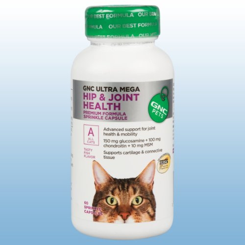 Gnc Ultra Mega Hip and Joint for Cats, My Pet Supplies