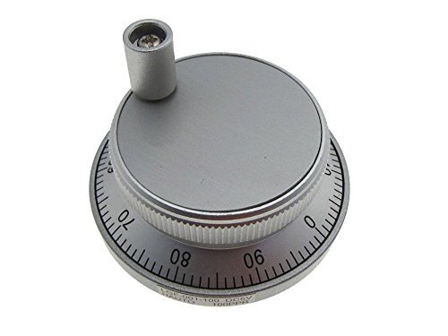 CNC Rotary Manual Pulse Generator Handwheel 100PPR A5
