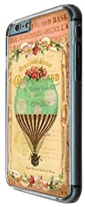 538 - Vintage Shabby Chic Victorian Hot Air Balloon Floral Roses Design For All iphone 6 plus 5.5 inch Fashion Trend CASE Back COVER Plastic&Metal