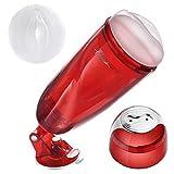 Utimi Male Masturbator Cup Realistic Vagina Masturbator Hands-free Masturbation Toy for Men
