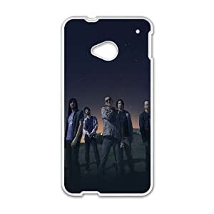 HTC One M7 Cell Phone Case White hc88 linkin park space music stars celebrity Jtxsp