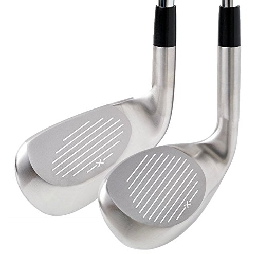 Tour Striker Golf Swing Trainer Bundle (7-Iron & Pitching Wedge, Steel Shaft) (right) (Wedge Swing Trainer)
