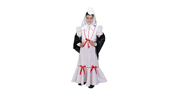 Disfraz de madrileña niña - 7 - 9 años: Amazon.es: Juguetes y juegos