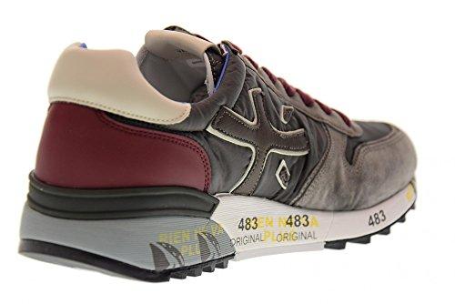 2321 Grigio Premiata Scarpe Mick Sneakers Uomo Bordeaux Basse nxBY8XBOq